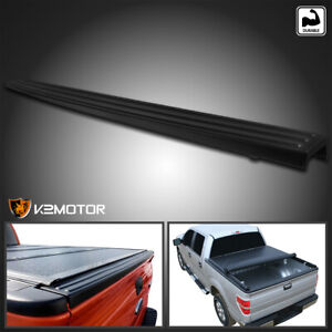 2009 2014 Ford F150 Trunk Top Protector Cover Tailgate Moulding Cap Black