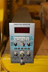 New Unholtz Dickie 800 Series Vibration Monitor 841w