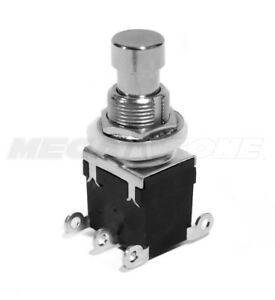 1pc Dpdt Momentary Foot Switch On on Guitar Effects Pedal Bypass Usa Seller