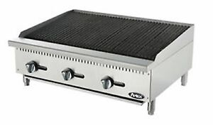 new Atosa Atcb 36 Hd 36 Char rock Char Grill Broiler Warranty