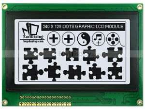 240x128 Graphic Lcd Module Display ra6963 t6963 Controller optional Touch Scree