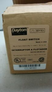 Dayton Float Switch 115v Made In Usa 30 Cord Normally Open