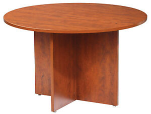 Gof Office Round Conference Table Cherry 42 Local Pick Up Only