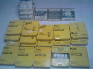 Buss Fuses Shawmut Fuses Variety Pack over 125 Fuses new