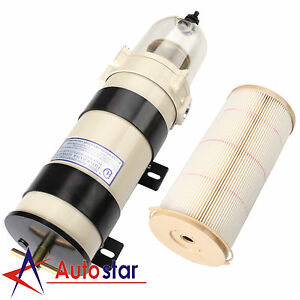 New 1000 Series Diesel Fuel Filter Water Separator Equivalent For 1000fh 180gph