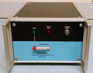 Spectracom 8140 5 Channel 1 To 10 Mhz Distribution Amplifier