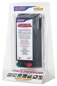 Fi shock 10 Mile Battery operated Medium Duty Fence Charger Ss 2000