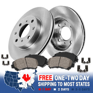Front 215 Mm Brake Disc Rotors And Ceramic Brake Pads For Chevy Sprint Geo Metro