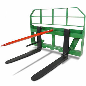 Titan 36 Pallet Fork Attachment Hd 49 Hay Bale Spear Fits John Deere Global