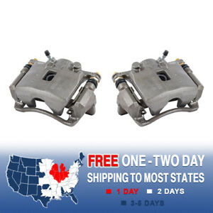 Front Quality Oe Brake Calipers Pair Kit For Acura Rsx Honda Civic Hatchback Fit
