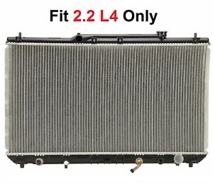 Radiator 1909 Fit 1997 1998 1999 2000 2001 Toyota Camry 2 2 4cyl Only