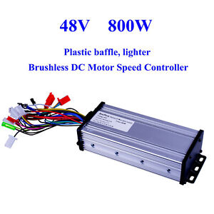 48v 800w Electric Bicycle E bike Scooter Brushless Dc Motor Speed Controller