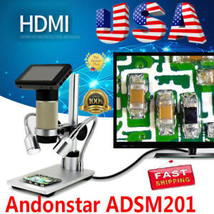 Andonstar Hdmi Digital Microscope Long Work Distance Pcb Soldering Repair Tool