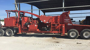 Morbark 40 36 Whole Tree Drum Chipper 755 Hp 2013 Model