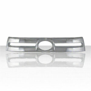 1pc Chrome Abs Grille Overlay For 2010 2013 Toyota Tundra Base Sr5