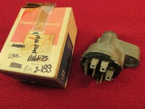Nos Oem 1966 66 Bonneville Catalina Grand Prix Ignition Switch Cylinder