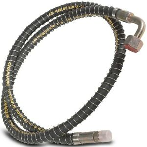 Titan 74 Long Hydraulic Bypass Hose For Lw 7a Lw 6a Backhoe Control Valves