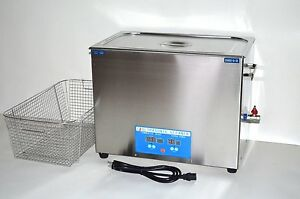 Dsa800se sk2 30l 8gal 1600w 40khz Digital Ultrasonic Parts Cleaner Basket Lid