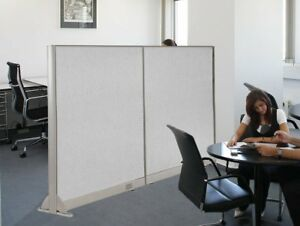 Gof Wall Mounted Office Partition 72 w X 60 h Office Panel Room Divider