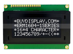 5v Black 16x4 Character Lcd Module Display W tutorial hd44780 Controller bezel