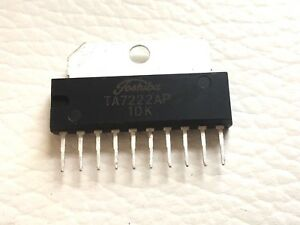 25 Pieces Ta7222ap 5 8w Audio Power Amplifier