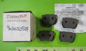 Nos Super Street Brake Pads Carbotech F Compond P N Ct Gd524 Ss Ft 9020j0524