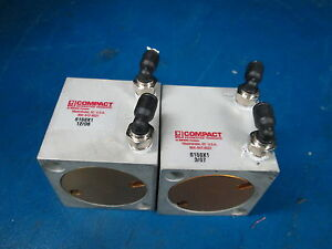 Lot Of 2 Compact Air Pneumatic Cylinder S158x1
