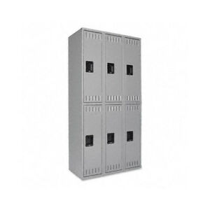 Tennsco Corp Tennsco 2 Tier 3 Wide School Locker