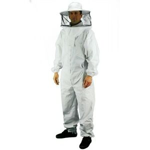 Professional Bee Suit beekeeping Supply Suit eco Keeper Round Hood Large