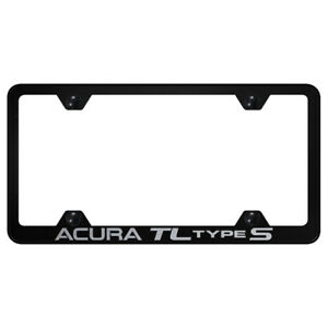 Acura Tl Type S On Black Wide Body License Plate Frame Officially Licensed
