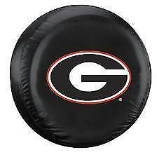 University Of Georgia Bulldogs Spare Tire Cover Up To 32 Diameter Vinyl