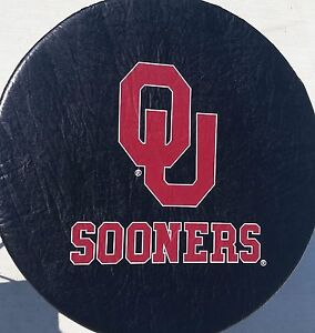 University Of Oklahoma Sooners Spare Tire Cover Up To 32 Diameter Vinyl