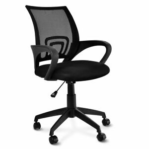 Ergonomic Mid back Mesh Computer Office Chair Desk Task Task Swivel Black New