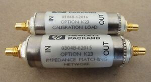 Hp K23 03048 62015 Impedance Matching Network 03048 62016 Calibration Load Qe