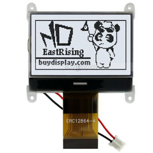 1 8 128x64 graphic Lcd Module Display Spi Serial st7565p W tutorial connector