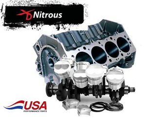 Lunati 598 Bbc Xd 4340 Forged Short Block Kit W Cp 32cc Dome Nitrous Pistons