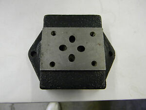 New Bosch Rexroth Subplate G342 12 R900155128 B4