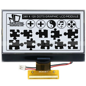 3 3 white 240x128 Cog Graphic Lcd Module Display w uc1698 Controller tutorial