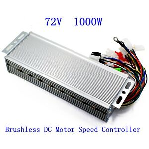 72v 1000w Electric Bicycle E bike Scooter Brushless Dc Motor Speed Controller