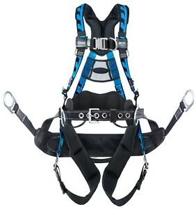 Miller Act qcbc Blue Aircore Tower Climbing Harness
