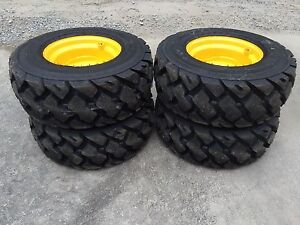 4 12 16 5 Ultra Guard Mx Skid Steer Tires wheels rims For New Holland 14 Ply usa