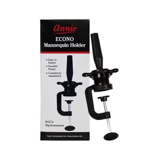 Annie Econo Mannequin Holder Practice Foam Head wig Stand Table Holding Clamp