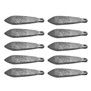 Snapper Reef Deep Sea Fishing Sinkers Lead TACKLE Several Sizes Available $62.44