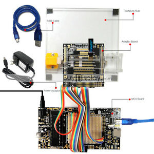 8051 Microcontroller Development Board Kit Usb Programmer For 0 84 oled Display