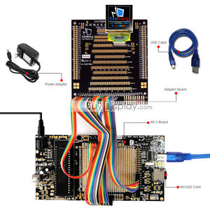 8051 Microcontroller Development Board Kit Usb Programmer For 1 5 oled Display