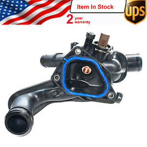 New Thermostat Housing And Gasket For 07 13 Mini Cooper R55 R56 R57 11537534521