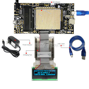8051 Microcontroller Development Board Kit Usb Programmer For 2 3 oled Display