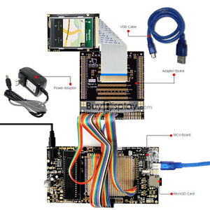 8051 Microcontroller Development Board Kit Usb Programmer For 2 6 tft Lcd Module