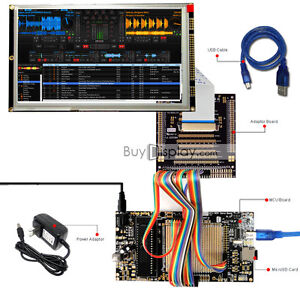 8051 Microcontroller Development Board Kit Usb Programmer For 8 tft Lcd Module