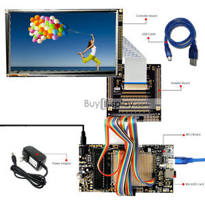 8051 Microcontroller Development Board Usb Programmer For 7 tft Lcd Display